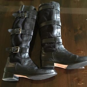 Cole Haan Nike Air leather/suede boots